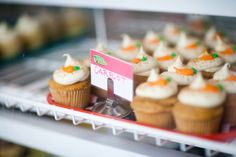 Delicious carrot cupcakes from Holy Cow, Cupcakes! in Carmel City Center! - Carmel, Indiana - Money Magazine's #1 Best Place to Live, 2012!