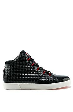 The Swag Capsule The Nike Lebron XIII NSW Lifestyle Sneaker in Black and Challenge Red