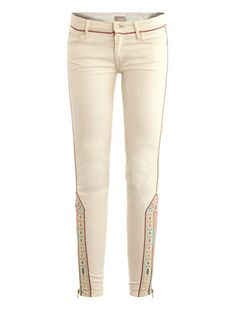 Mid-rise Skinny Jeans by Mother