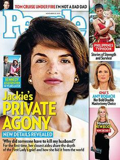 ON NEWSSTANDS 11/15/13: Jackie Kennedy: New Details of Her Heartbreak. Plus: Miranda Lambert's New Body, GMA's Amy Robach's Bold Choice and More http://www.people.com/people/article/0,,20755246,00.html