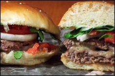 Chile Con Quiso Burgers