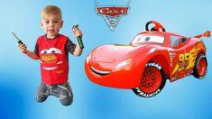 Funny BABY Surprise Unboxing and Assembling new Disney Cars 3 Lightning McQueen 6V Battery Powered Ride on Car INSTAGRAM https://www.instagram.com/imdaniel_s...