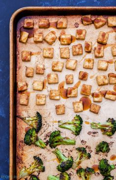 Sheet Pan Crispy Teriyaki Tofu and Broccoli is sure to change any negative opinions about tofu you once had! Crisp, flavorful and not the least bit soggy. The perfect vegan and gluten-free dinner to try when you're craving takeout!