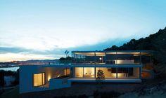 Modern Transparent Duplex Giving Inspiration to 2014 House Design: Elegant View Of Modern Countryside House Duplex In Transparent Design Sup...