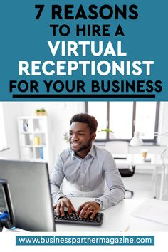 Virtual Receptionist, Virtual Assistant, How To Become, Business, Store, Business Illustration