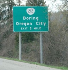 Who wants to visit a boring Oregon city this weekend?