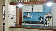 Flate 32m², em São Vicente, mobiliado, TV 48
