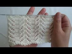 Lastik bile istemeyen ajurlu örgü modeli yapılışı - YouTube Knitting Stiches, Crochet Stitches Patterns, Crochet Designs, Baby Knitting, Stitch Patterns, Knitting Patterns, Crochet Hats For Boys, Baby Vest, Arm Warmers