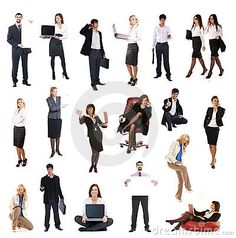 A Set Of Different Business People - Download From Over 38 Million High Quality Stock Photos, Images, Vectors. Sign up for FREE today. Image: 14362952