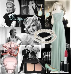 """Ginger Rogers~"" by savannahflower13 ❤ liked on Polyvore"
