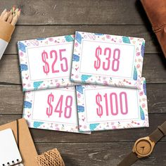 LuLaRoe Boho Price Cards Instant Download Home Office Approved