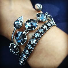 Spikes, bling and sparkle!! #stelladotstyle #sdjoy