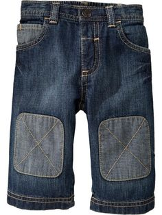 Old Navy - Knee-Patch Jeans for Baby ---so adorable  for a boy