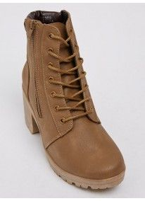 That's it | Lace-up Ankle Boots Neutral