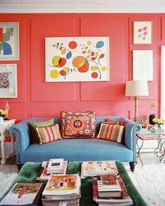 F Yeah, Awesome Houses!: Colorful Living Room Walls
