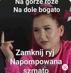 Very Funny Memes, Haha Funny, Funny Jokes, Reaction Pictures, Funny Pictures, Polish Memes, Happy Photos, I Cant Even, Humor
