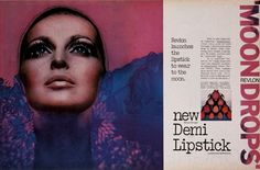 This Revlon ad I remember seeing in an old magazine years ago. So beautiful.