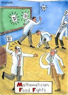 Mathematician Food Fight
