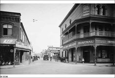 Bent St,Sydney in 1929.