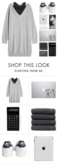 """21st century breakdown"" by megan-vanwinkle ❤ liked on Polyvore featuring T By Alexander Wang, LEXON, Linum Home Textiles, NARS Cosmetics, adidas, Calvin Klein, polyvoreeditorial and powerlook"