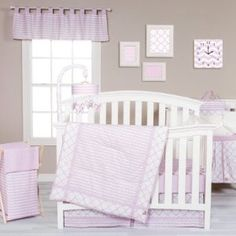 Trend Lab Crib Bedding Collection Orchid Bloom
