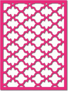 ~~pinned from site directly~~ . . .  Silhouette Design Store - View Design #72695: quatrefoil lattice