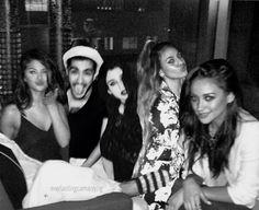 Selena Gomez, Zayn Malik, Lauren Jauregui, Dinah Jane, and Shay Mitchell manip