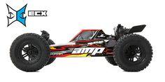 1/10 AMP DB 2WD デザートバギー RTR, ブラック/イエロー