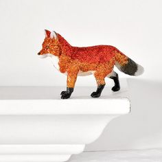 Fox Centerpiece Woodland Home Decor
