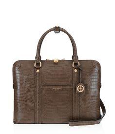 Crocodile Leather Briefcase - West 57th 2b5d2e38337e6