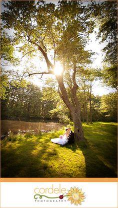 bride and groom outdoor wedding photo  Cordele Photography  www.cordelephotography.com