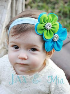 Spring Couture Headband- $10.00.  jaxandmia.etsy.com
