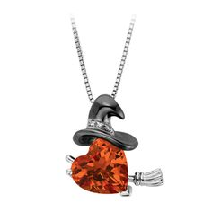 Fred Meyer Jewelers   Created Sapphire Witch Pendant