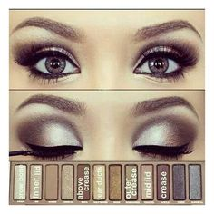 NAKED2 Palette Perfect Wedding Makeup ❤ liked on Polyvore featuring beauty products, makeup, eye makeup, beauty, eyes and palette makeup