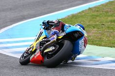 Alex Marquez Jerez Test 2015