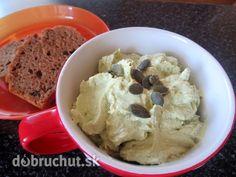 Fotorecept: Avokádovo-cesnaková pomazánka s tofu (Slovak) Tofu, Guacamole, Mashed Potatoes, Ale, Appetizers, Ice Cream, Snacks, Vegan, Ethnic Recipes
