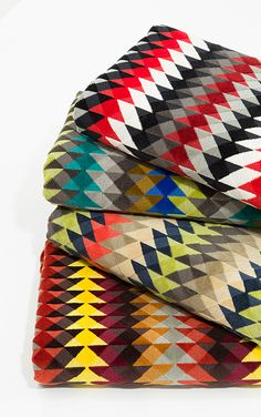 Robert Allen Contract geometric fabric Cairo Bazaar offered in four color ways. Interior Design Process, Tribal African, Geometric Fabric, African Textiles, Robert Allen, Textile Fabrics, Bath Design, Cairo, Custom Furniture