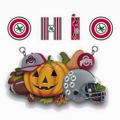 Football Crafts, Ohio State Football, Ohio State University, Ohio State Buckeyes, Sports Ohio, Sport Football, Buckeye Crafts, Buckeyes Football, Cincinnati