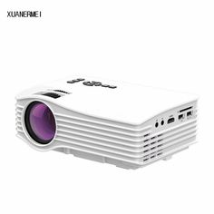 XUANERMEI HD Mini Portable LED LCD HD Digital video Projector HDMI VGA AV USB SD with Remote Control Factory Free Shipping