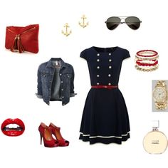 """""""Are You Nautical or Nice?"""" by karaallan on Polyvore"""