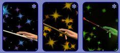 3 Wand Accessories - Good, Neutral, Evil