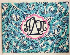 ADPi Lilly Monogram