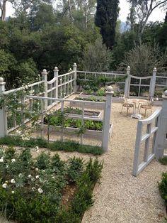 like the idea of this around the kitchen garden.