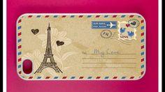 Cute Paris envelope case! From Best Cases. best_cases on Instagram