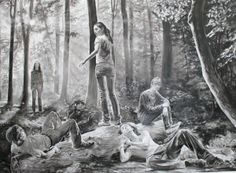 Künstlerpaar Muntean/Rosenblum (galerij Kromus & Zink)