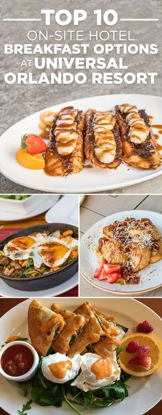From the theme parks to the pools and everything in between, there is so much to do at Universal Orlando Resort, including breakfast. Check out the top 10 tastiest breakfast options at Universal Orlando's five on-site hotels.