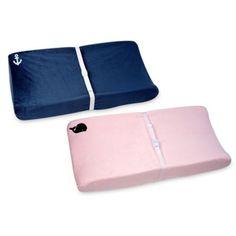 Nautica Kids® Mix & Match Velboa Changing Pad Covers - buybuyBaby.com
