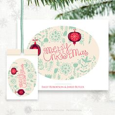 Printable christmas card chalkboard instant download by ameliycom christmas printable retro xmas card and tag vintage holidays set digital instant download diy solutioingenieria Gallery