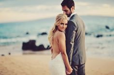 Glam Hawaiian Wailea Wedding { Maui } - Modern Weddings Hawaii : Bridal Inspiration Good.