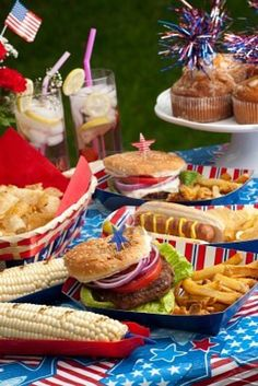 Fourth of July Picnic   #nancymaxandco